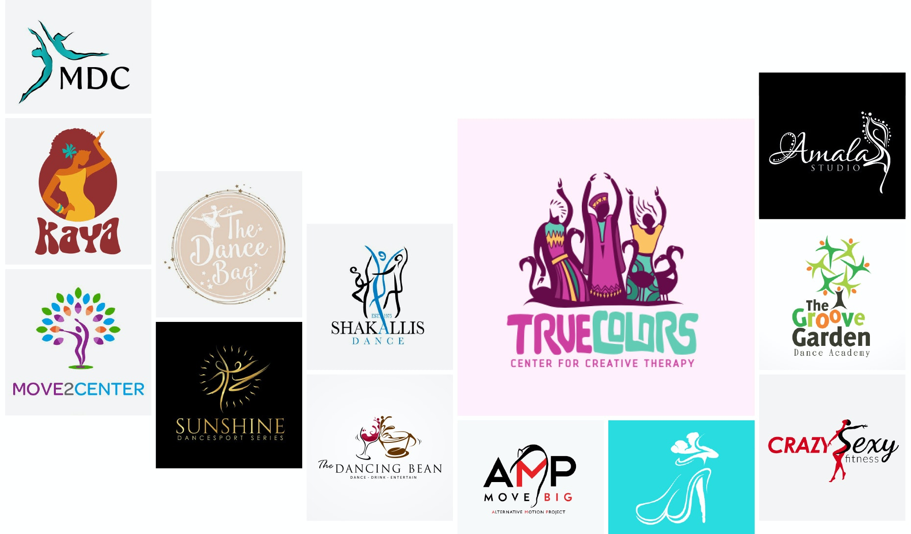 41 dance logos to get you groovin'
