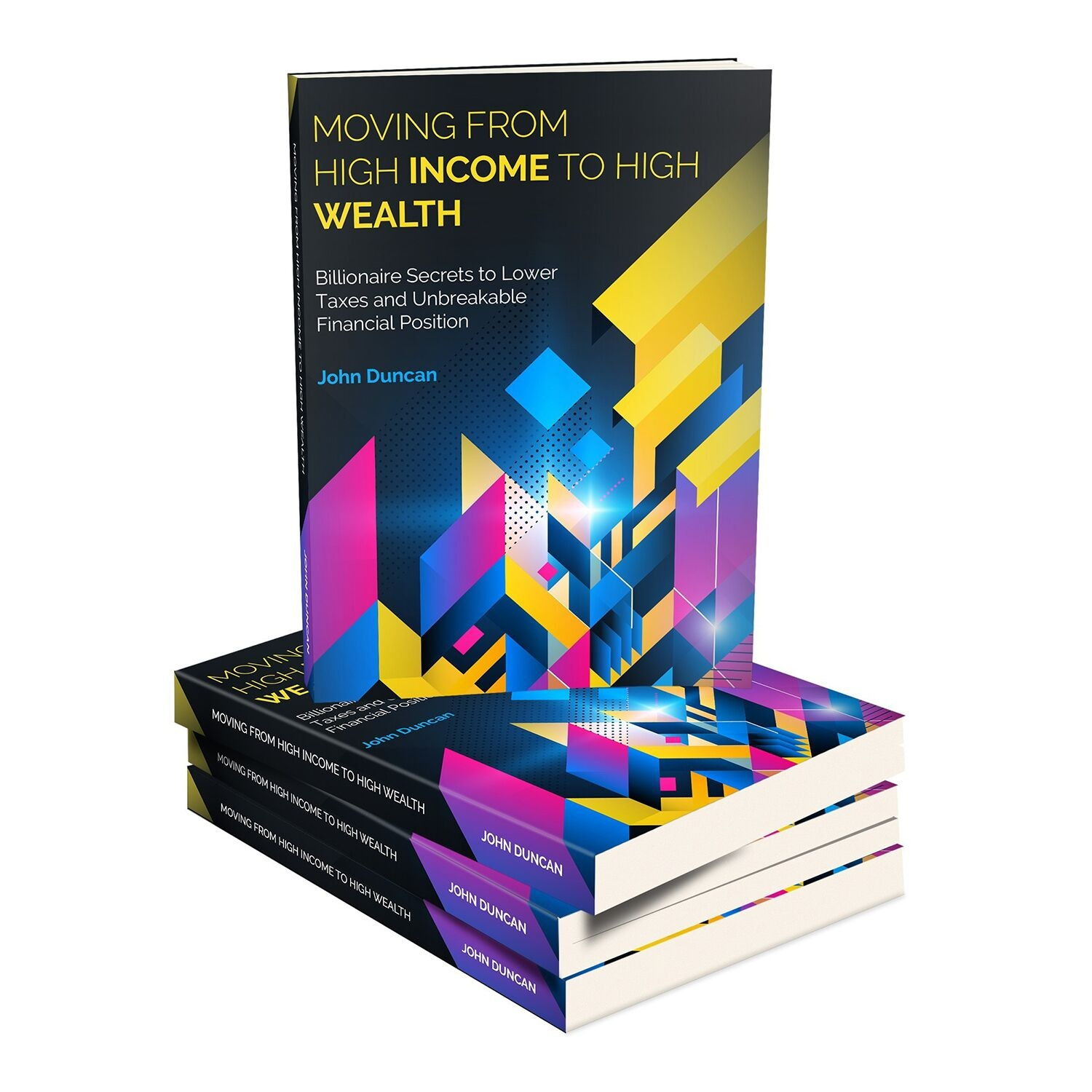 Financial planning book cover design