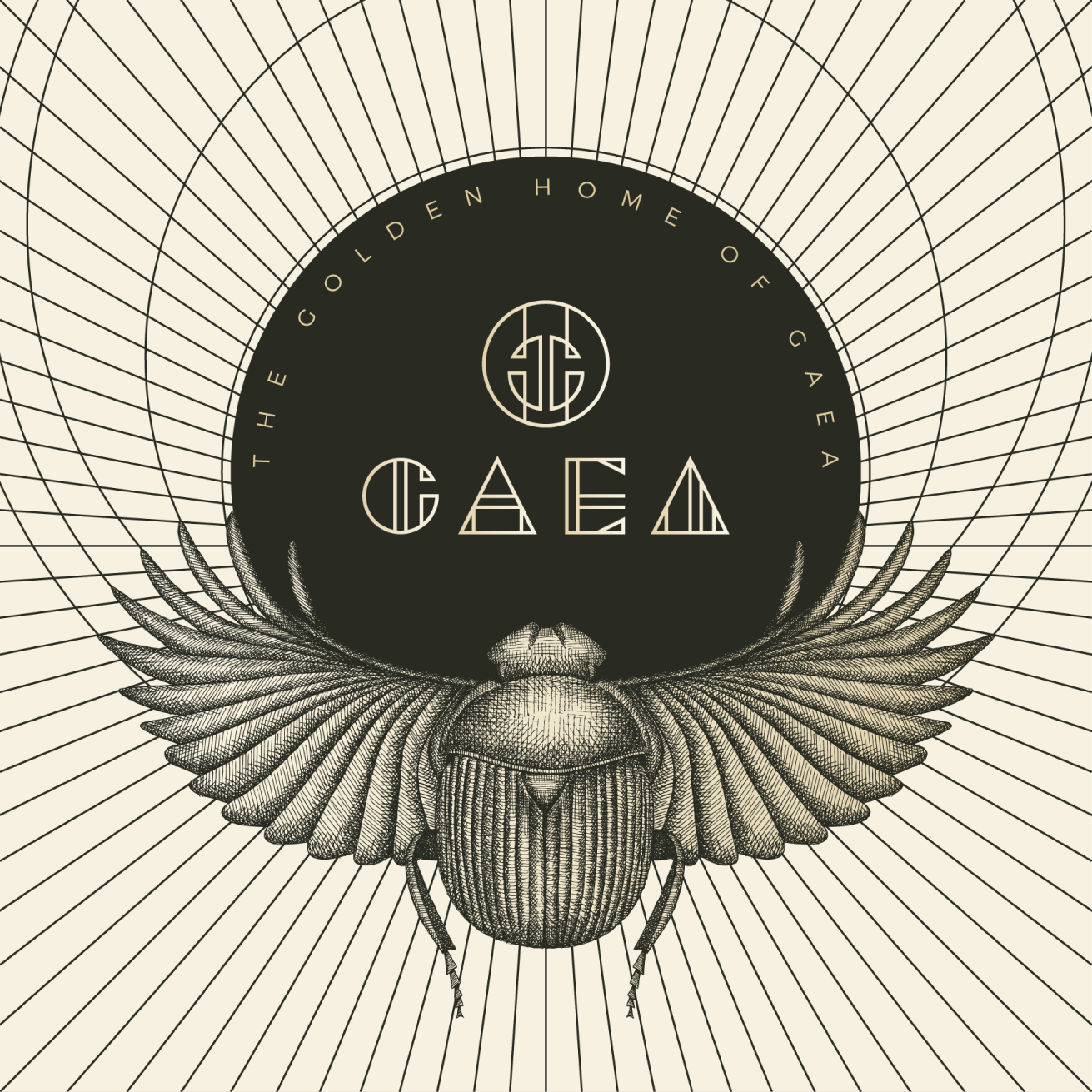 Complete branding design for Gaea fashion house