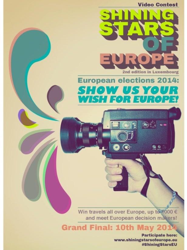 Shining Stars of Europe poster mockup