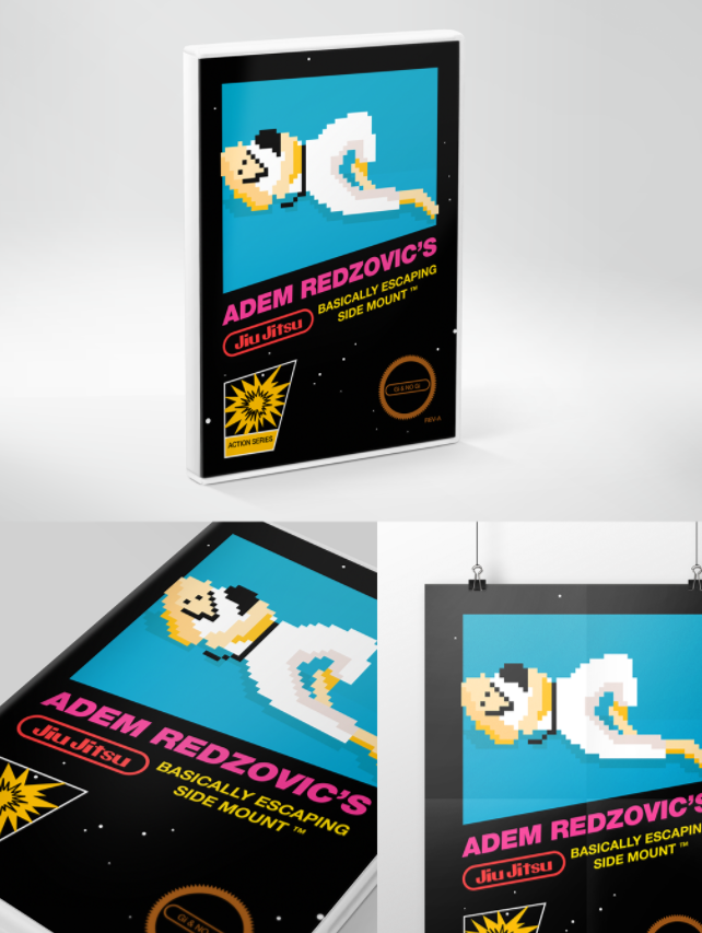Jiu Jitsu Poster Mockup