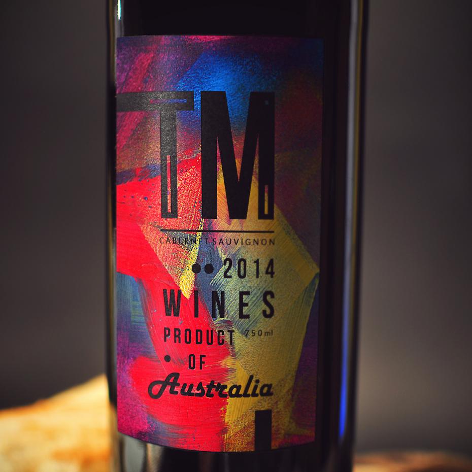 Conception d'étiquettes audacieuses pour les vins ™