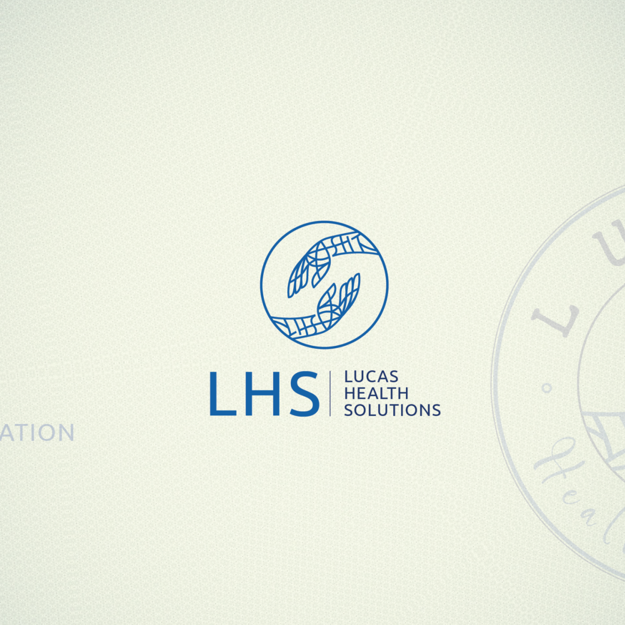 Logo for Lucas Health Solutions