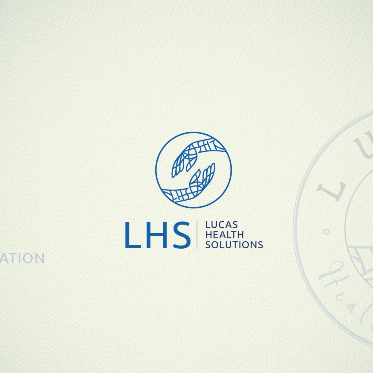 Logo for Lucas Health Solutions