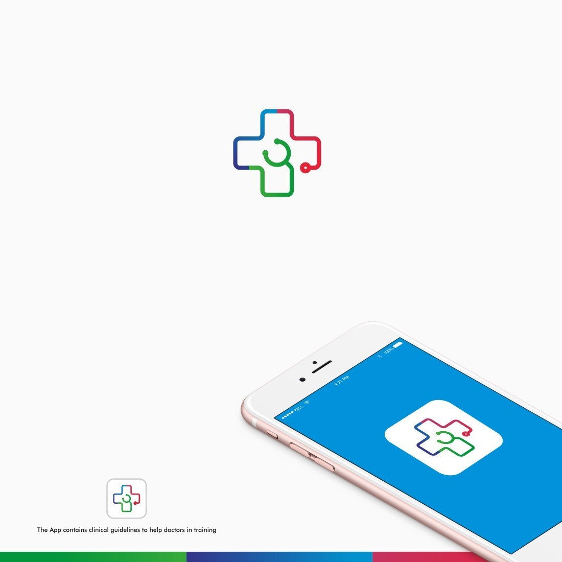 Logo for medical app