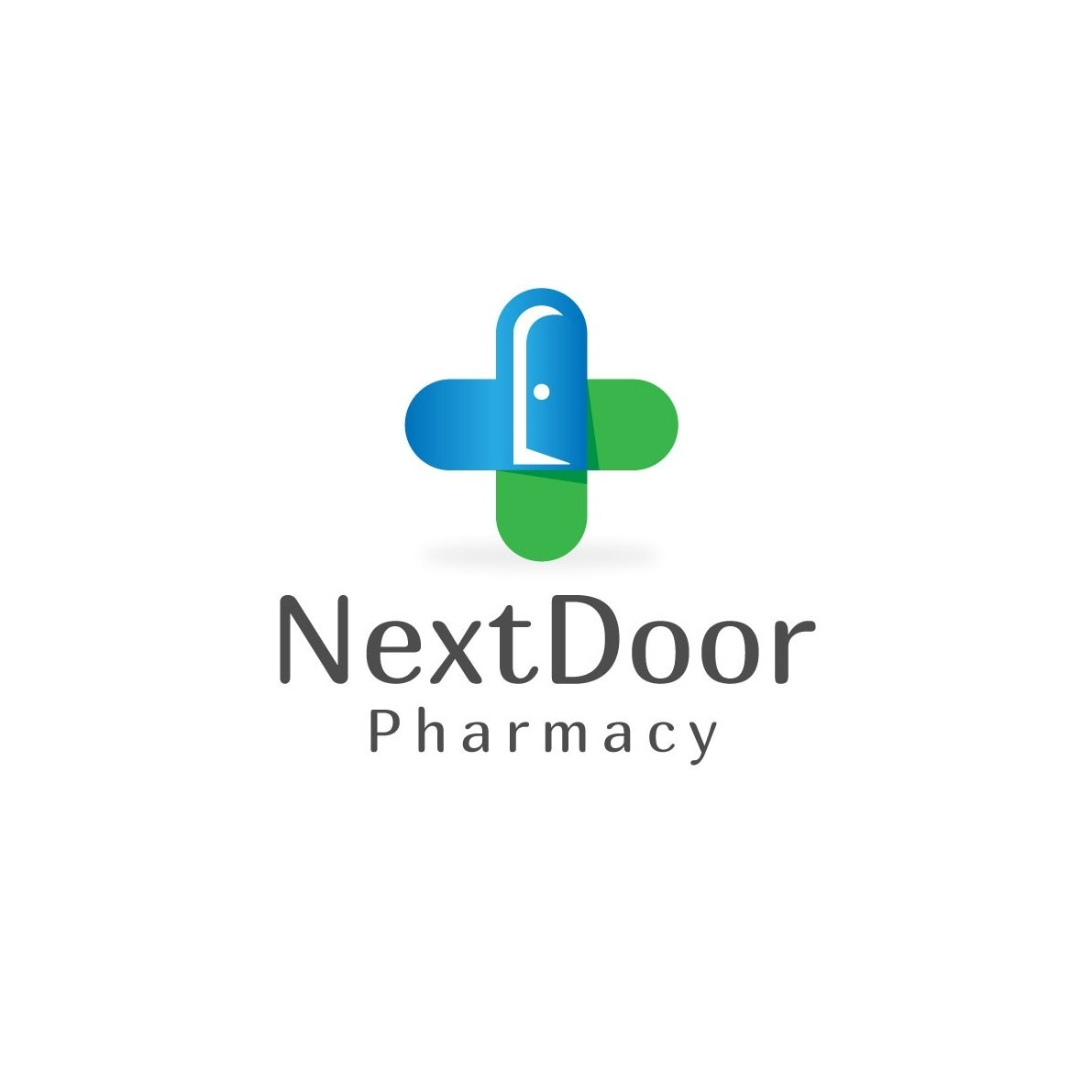 Logo for Next Door Pharmacy