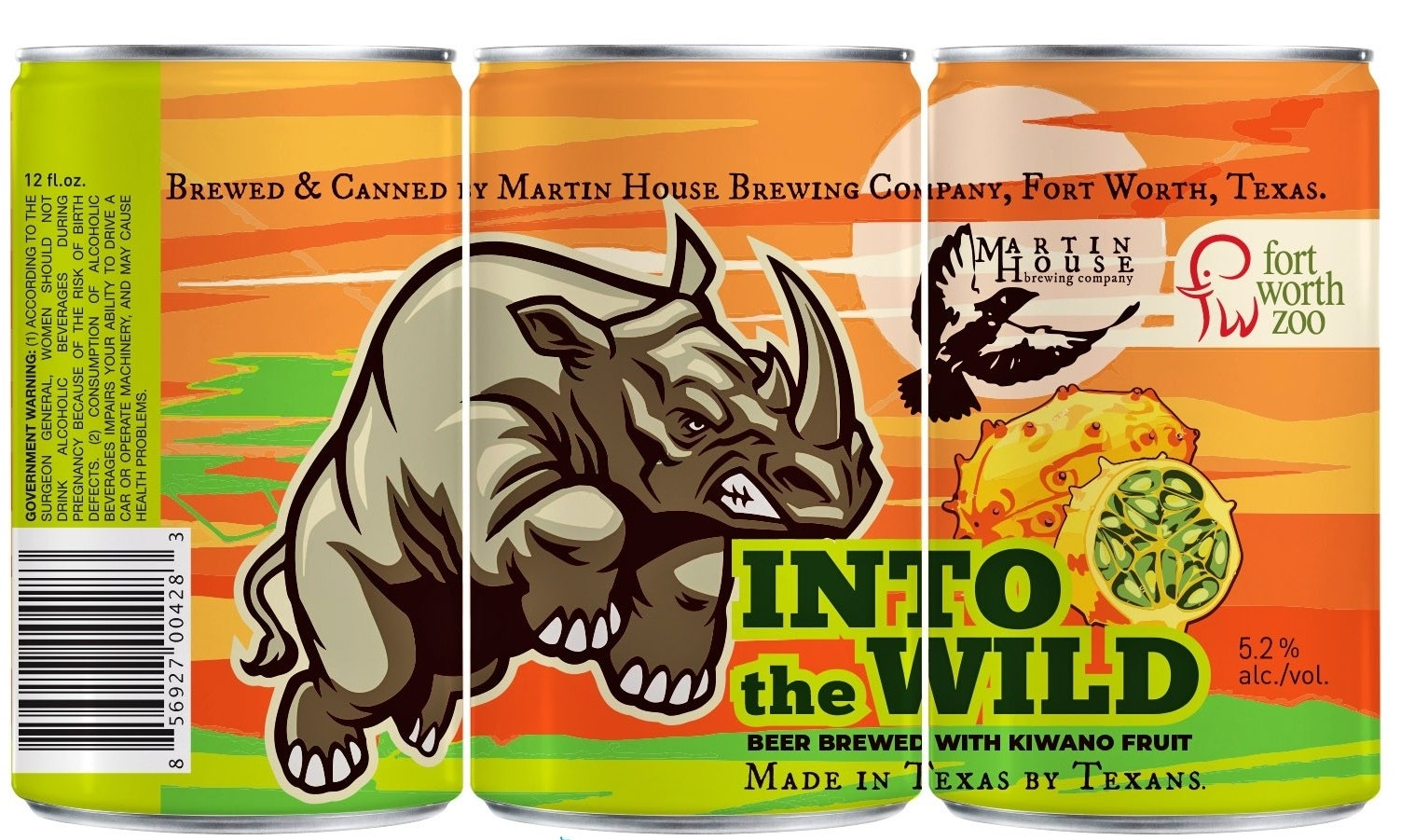 Into the Wild beer logo