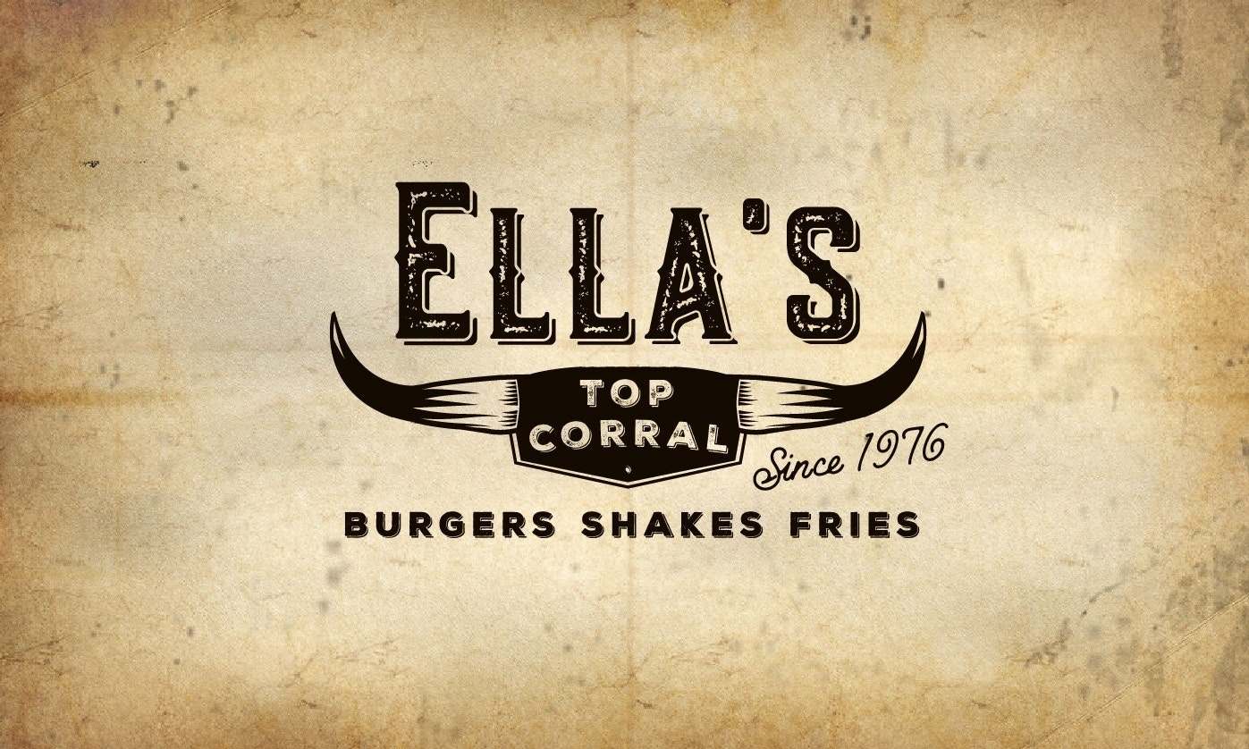 Ella's Top Corral logo