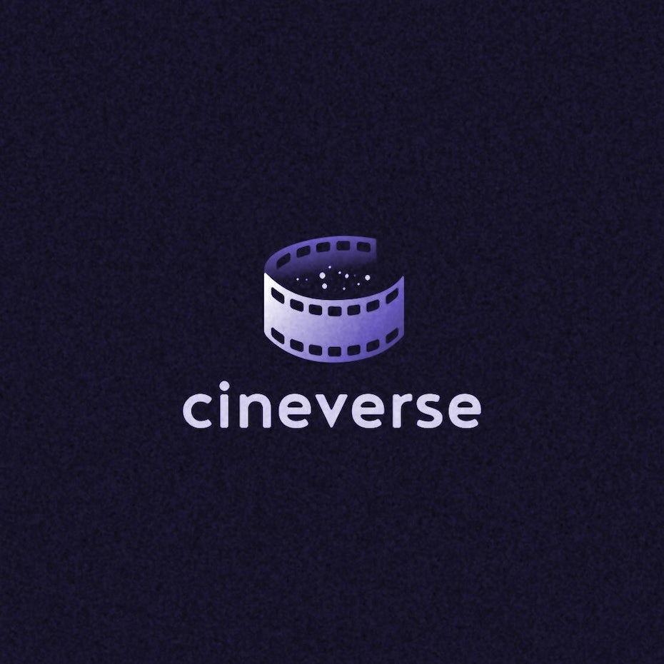 Création de logo Cineverse