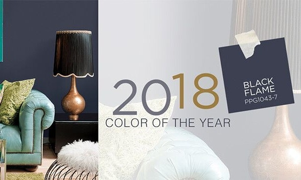 PPG 2018 Color of the Year, Black Flame
