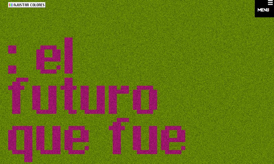Un vrai site Web brutaliste conçu par El futuro que fue