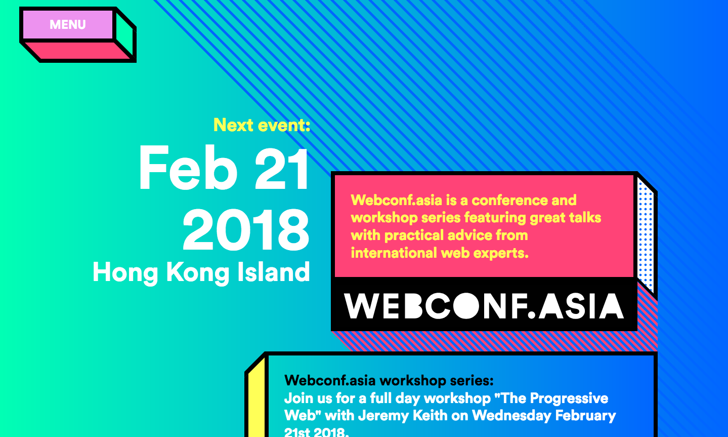 Webconf.asia logo design