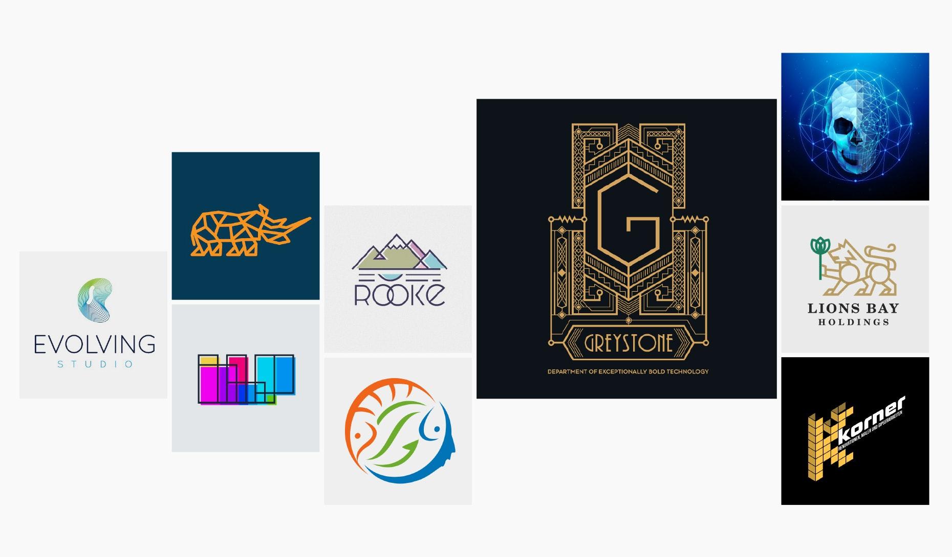 30 geometrische Logos, die alle Erwartungen erfüllen
