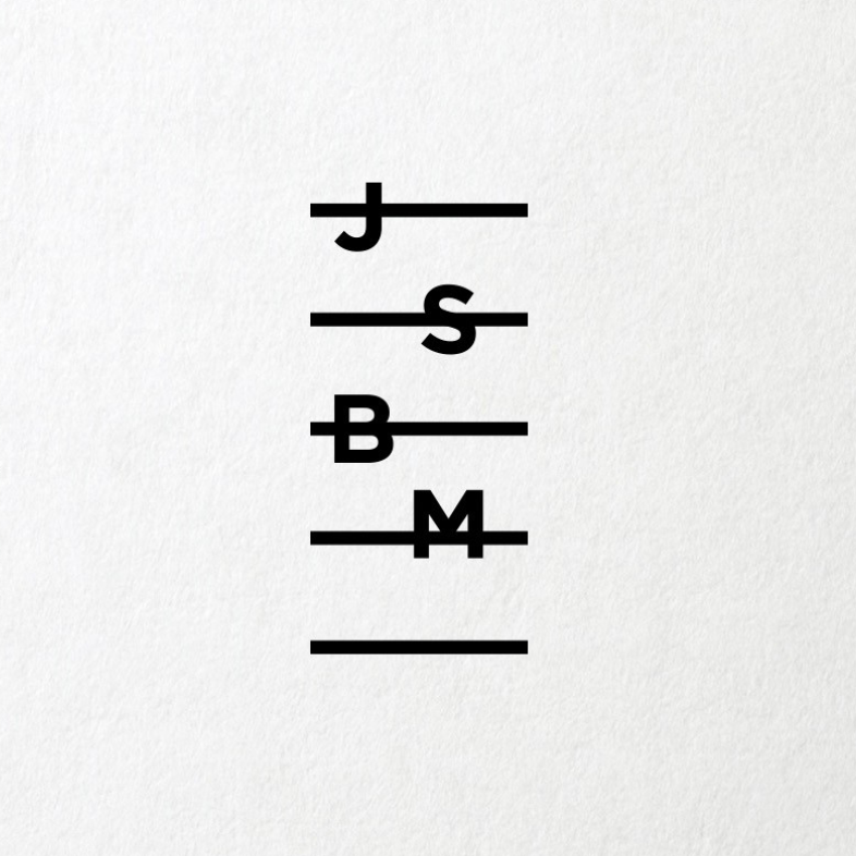 letters arranged like a musical scale