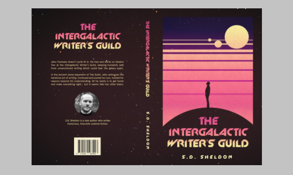 The intergalactic writers guild cover