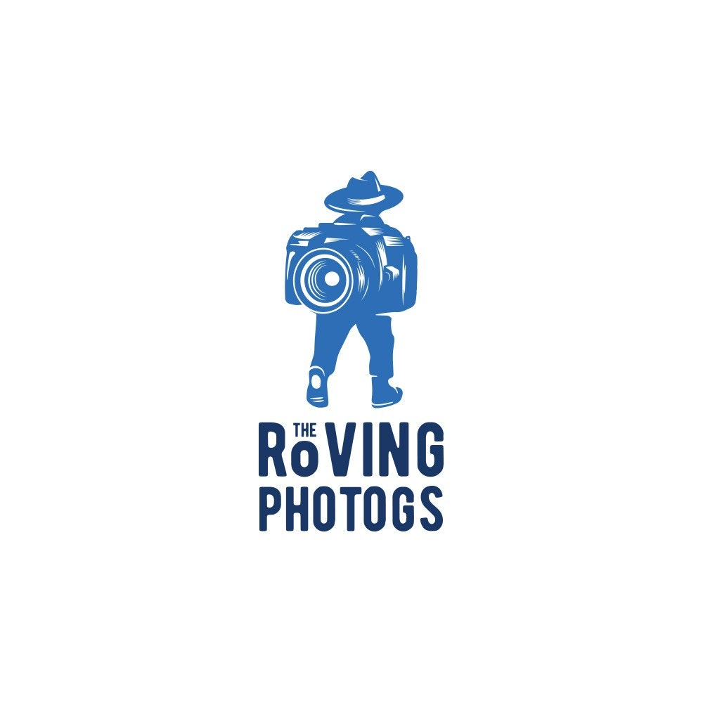 Photography logo with visual pun