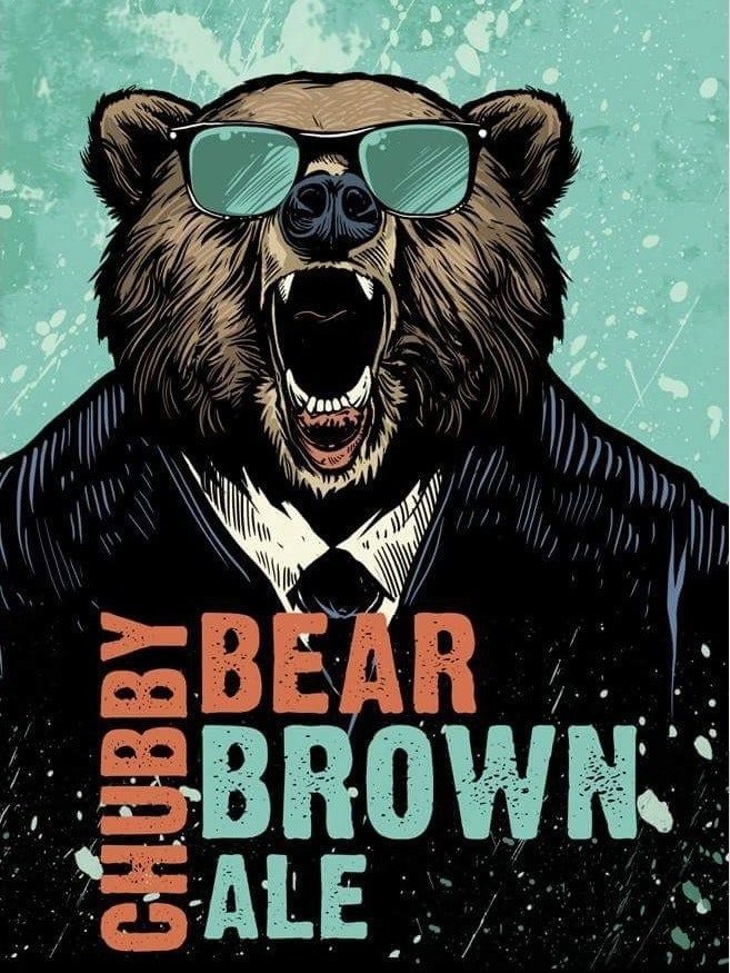 Chubby Bear Brown Ale logo