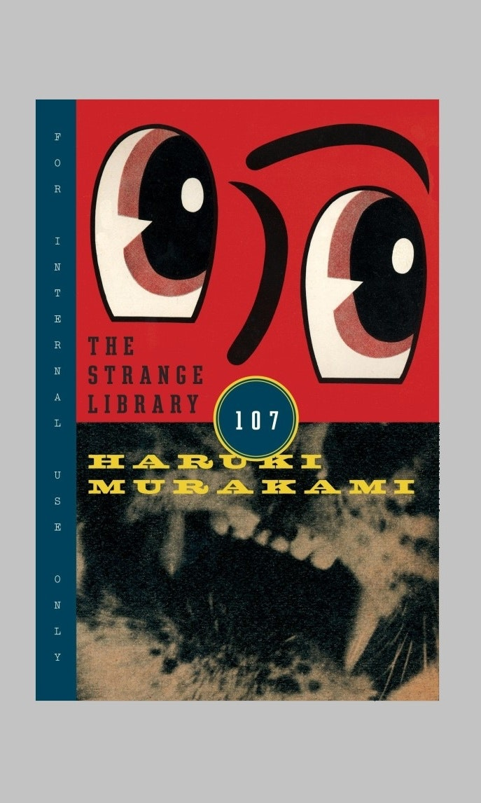 The strange library cover