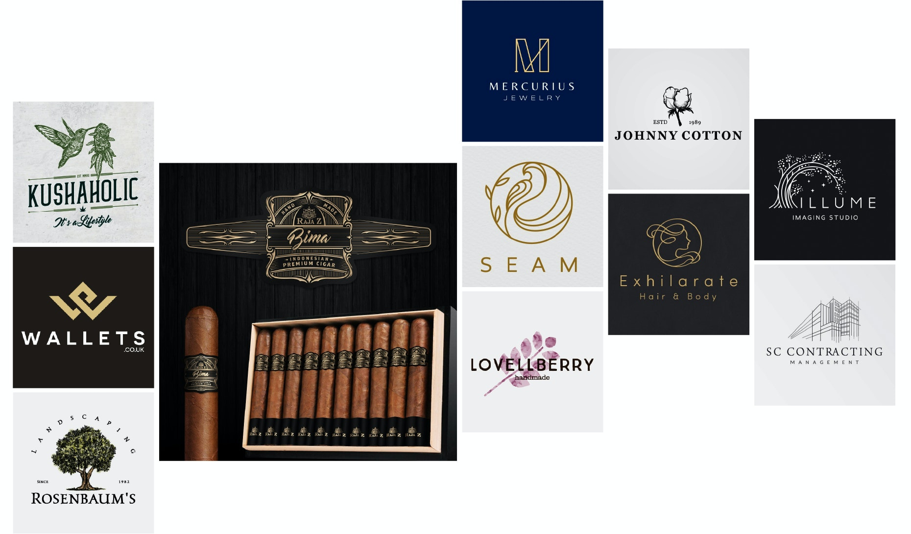 24 elegant and luxurious logos to make you feel fancy
