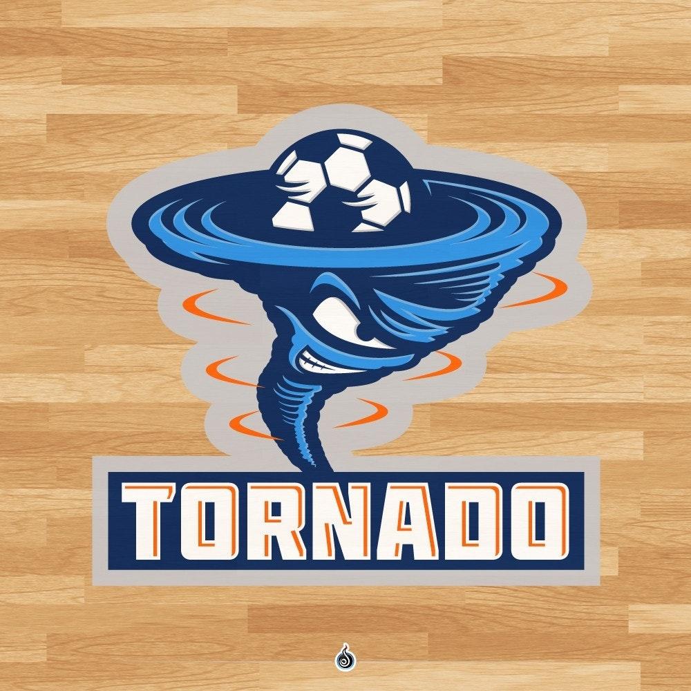 mean tornado mascot