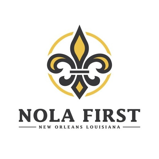 fleur de lis logo for NOLA First