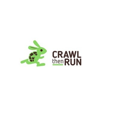 Crawl then Run logo 3