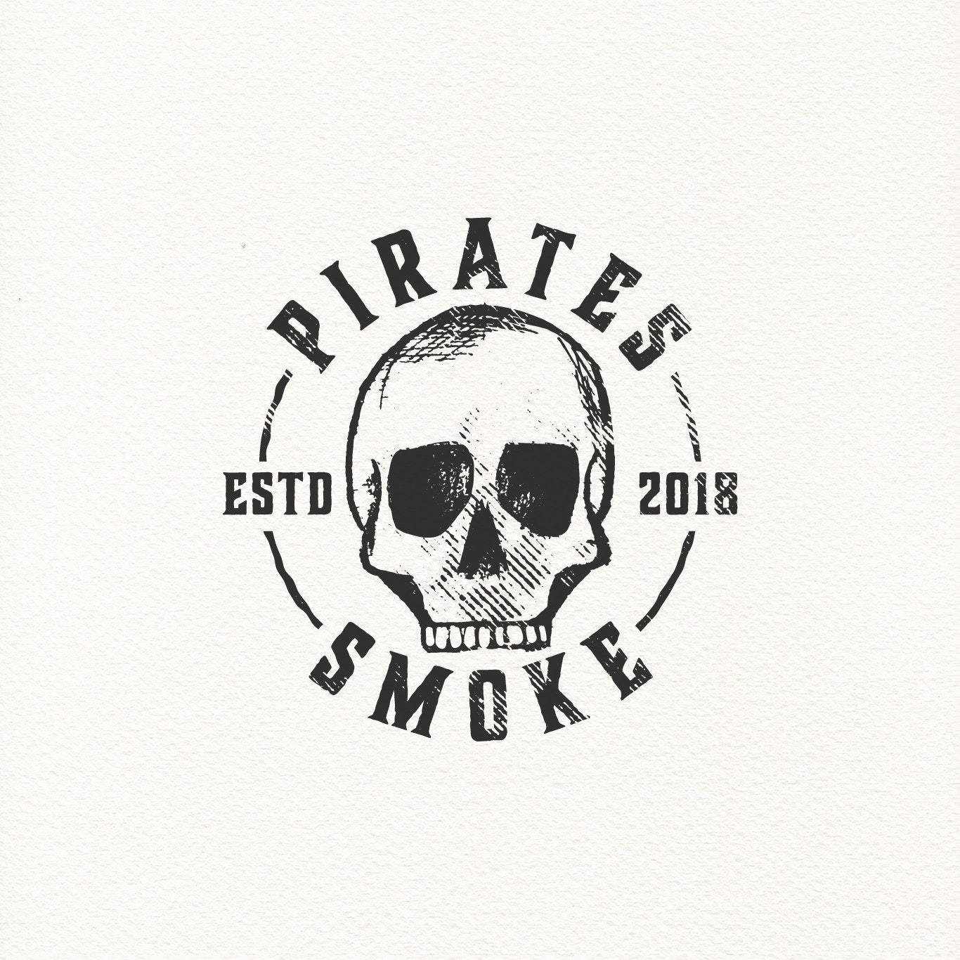 Pirates Smoke logo design