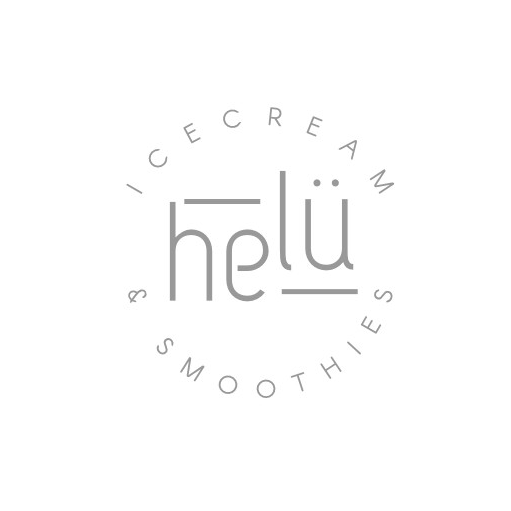Simple ice cream logo