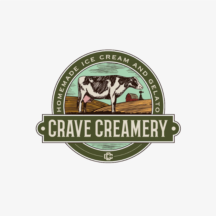 classic ice cream logo