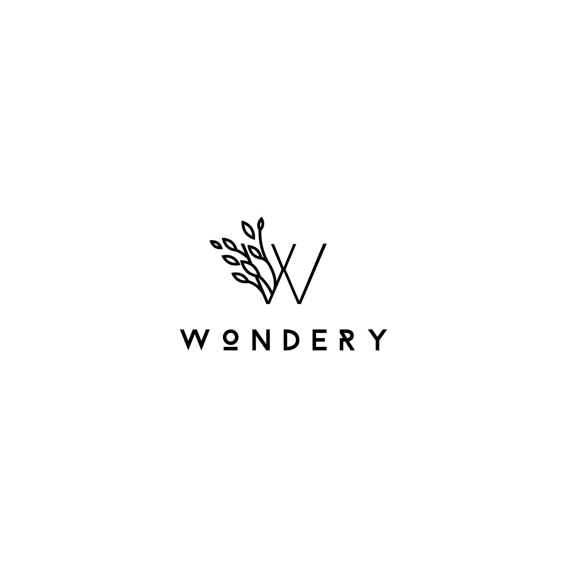 Wondery logo design