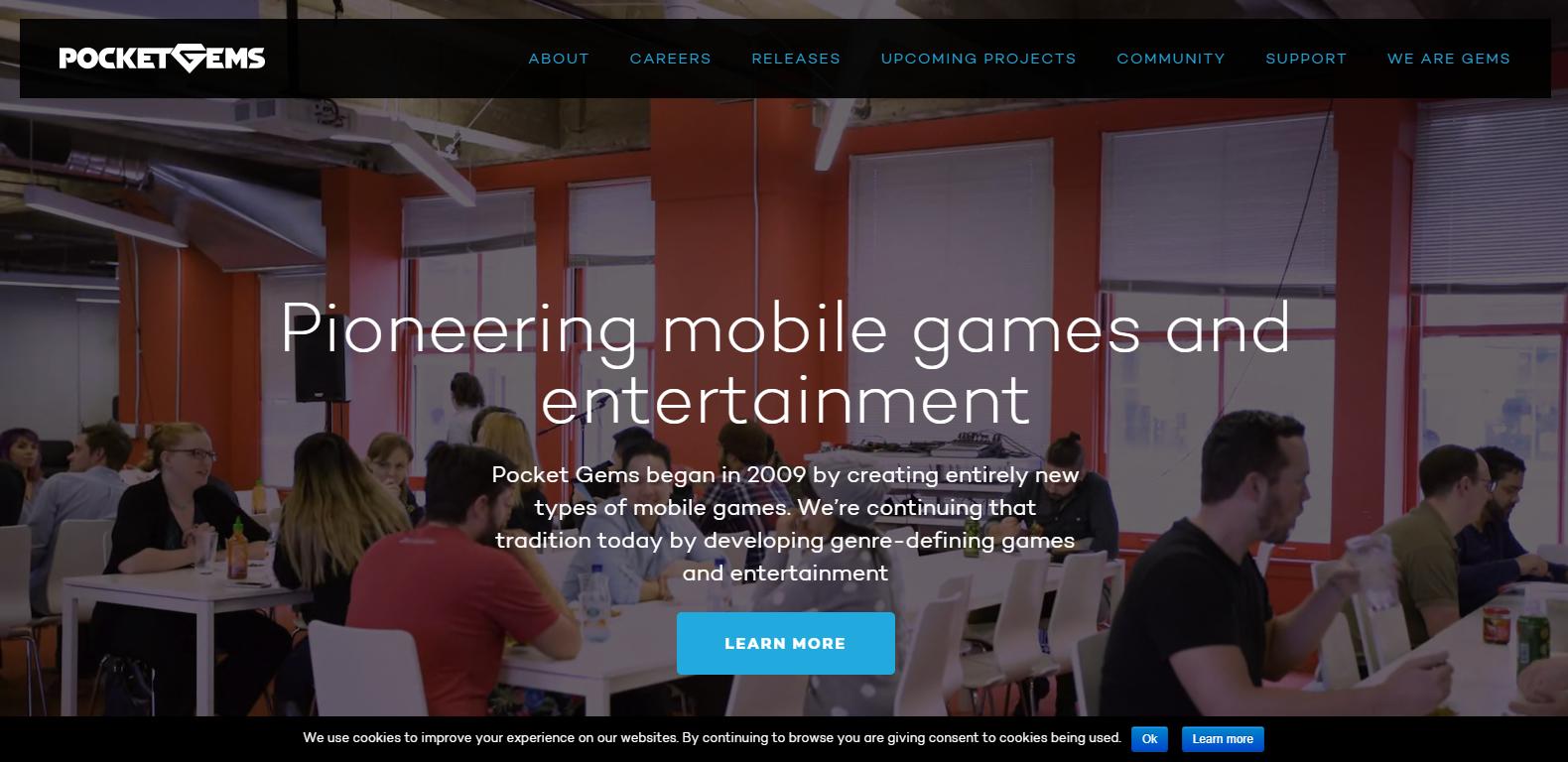 pocketgems website