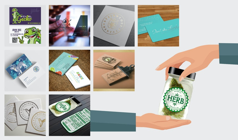 38 Unique Business Cards That Will Make You Stand Out 99designs