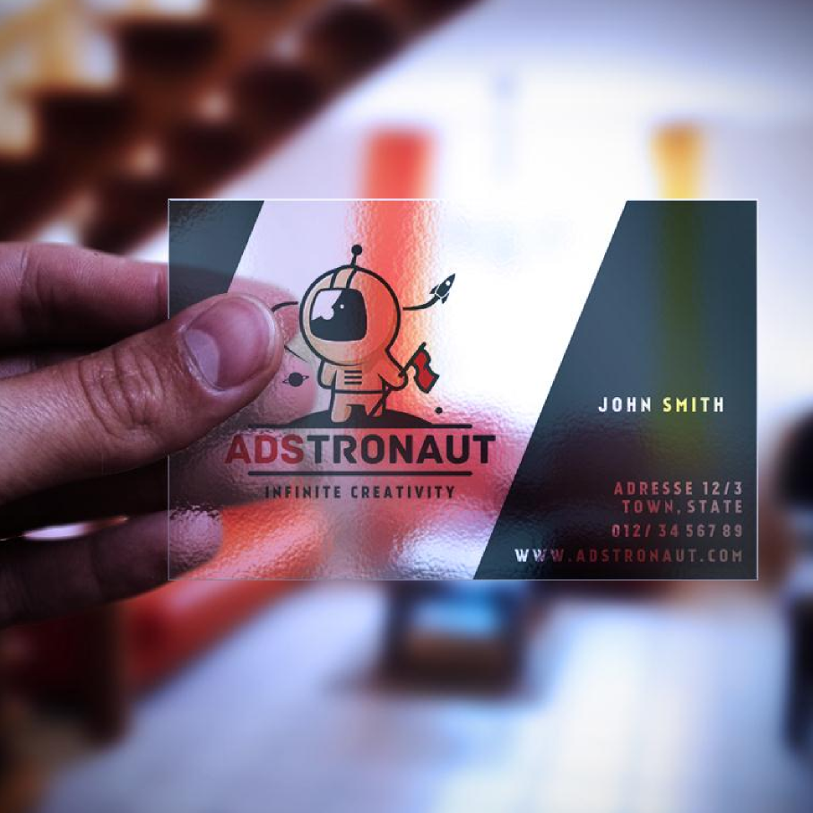 Adstronaut business card