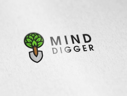 Mind Digger business card