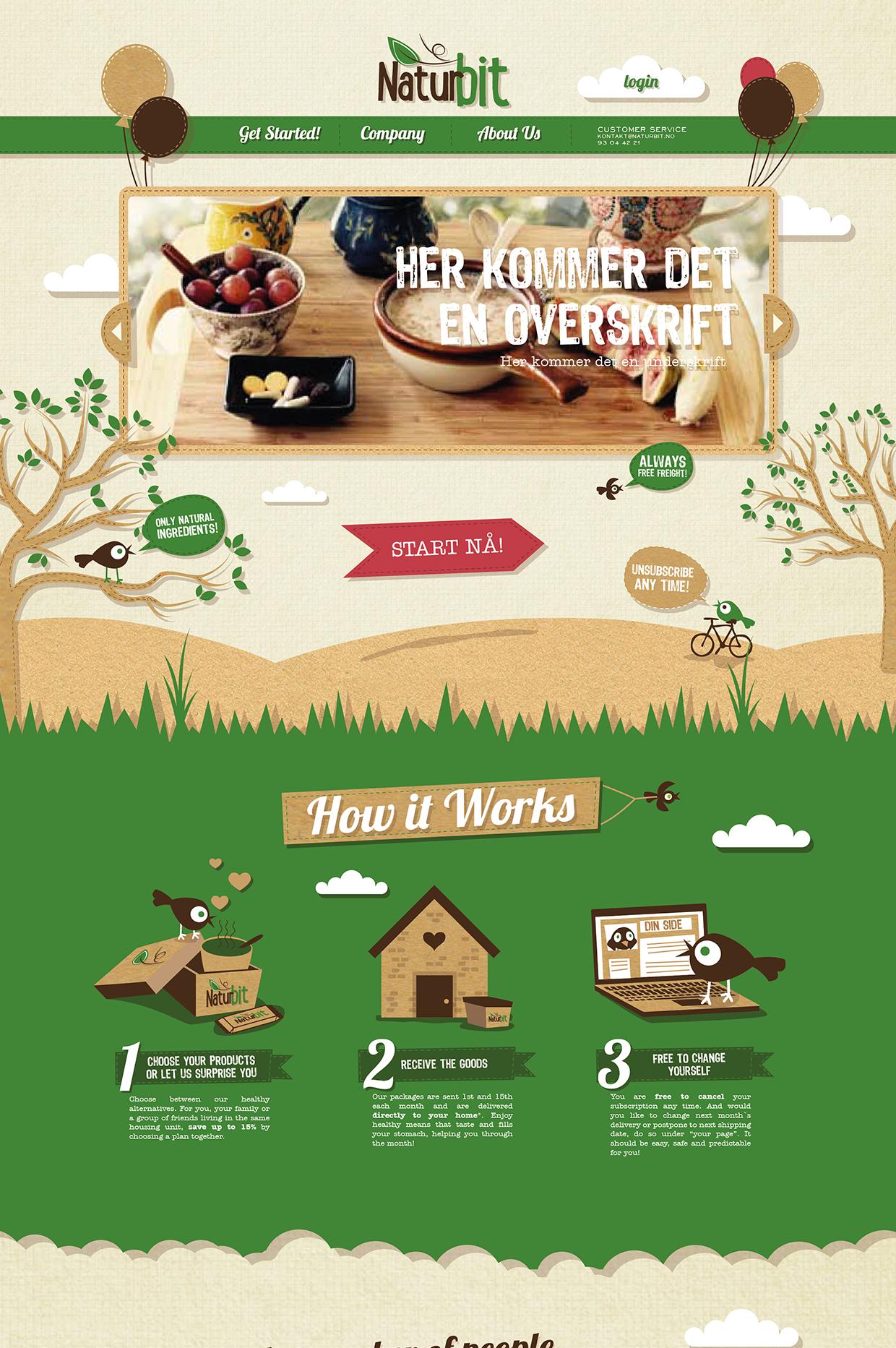 Naturbit web design