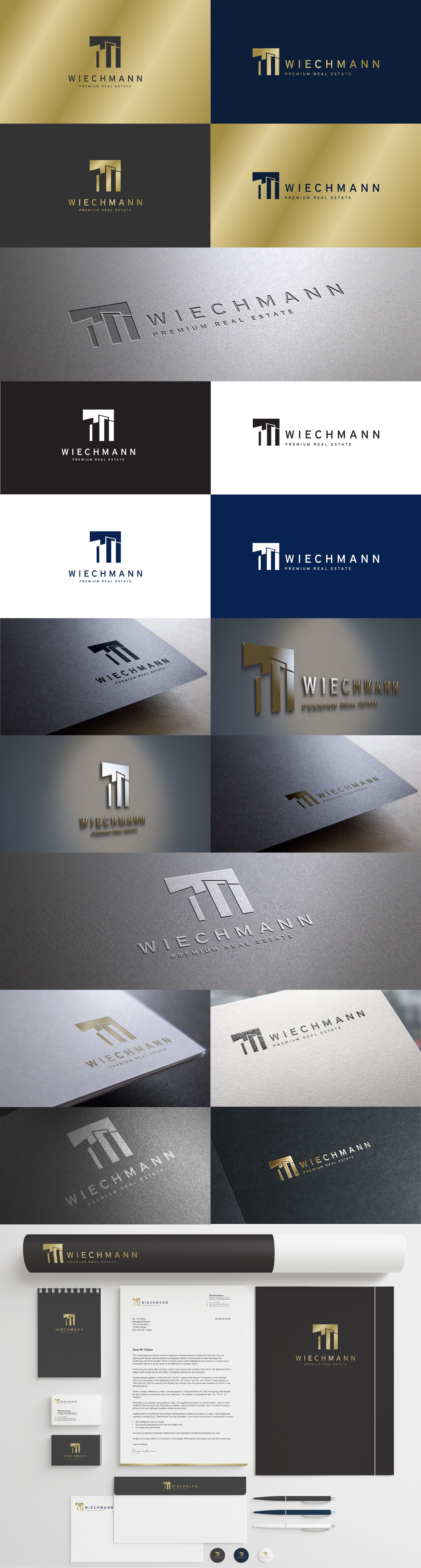 Wlechmann Real Estate business card