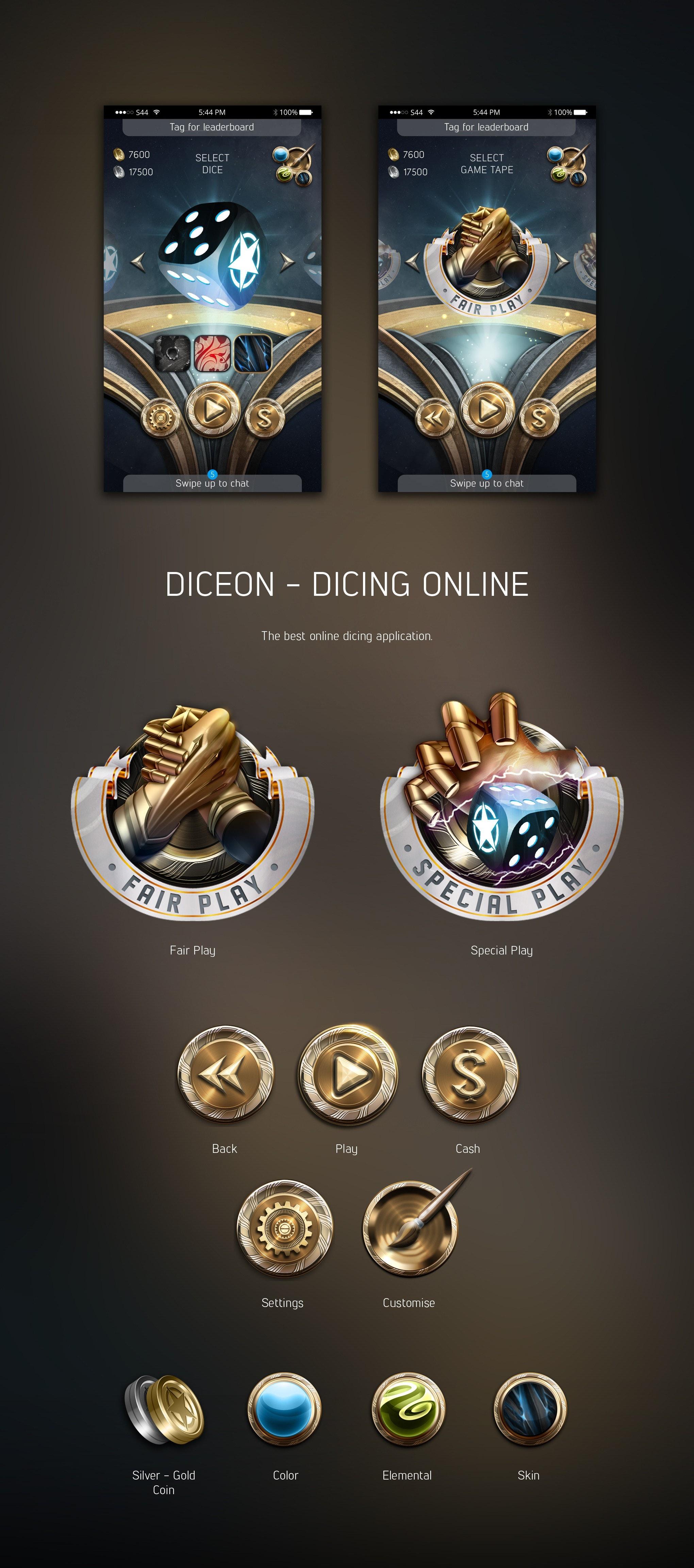 An app game design