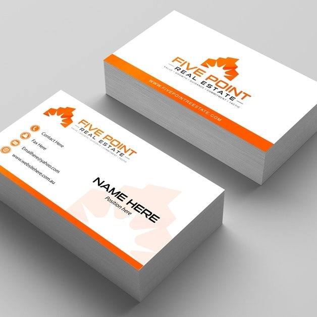 Business Card Design By Creativethinking Bluesage Realty