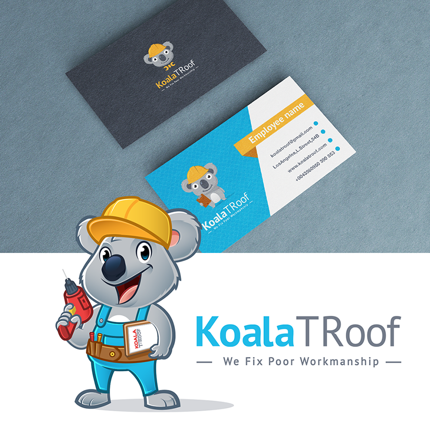 Koala business card