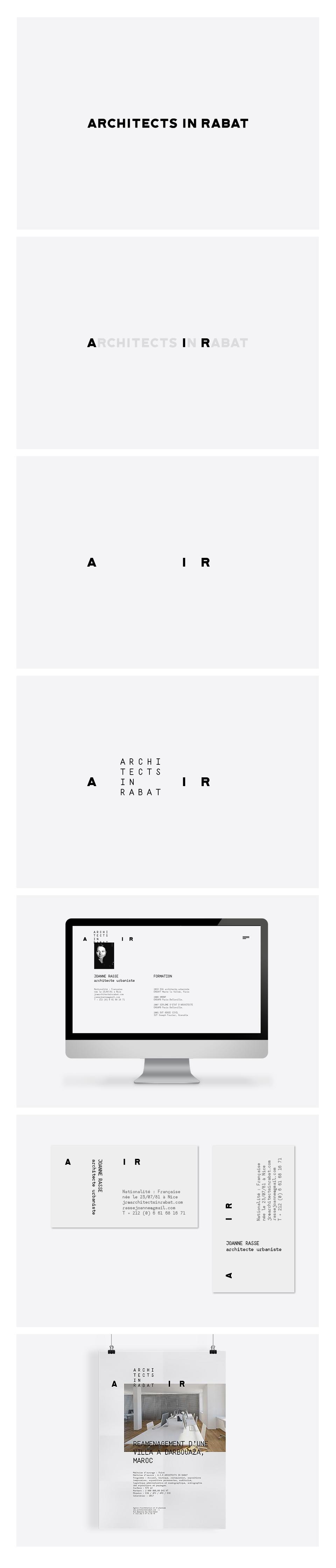 A typography focused logo design