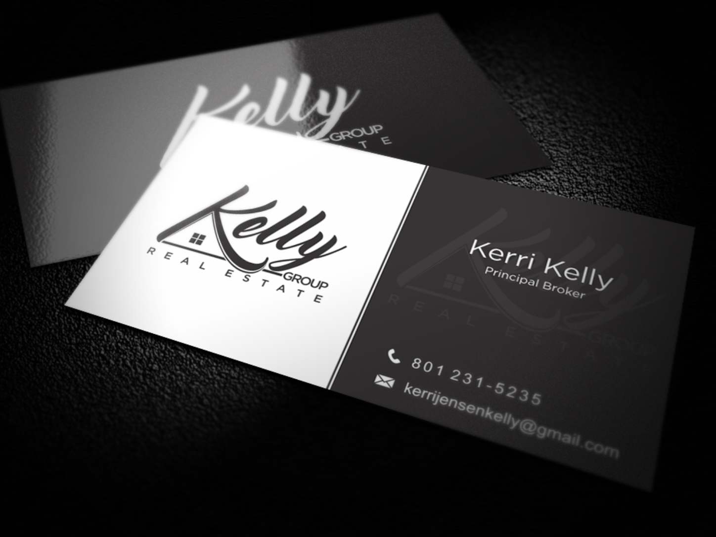 Kelly Group Real Estate business card