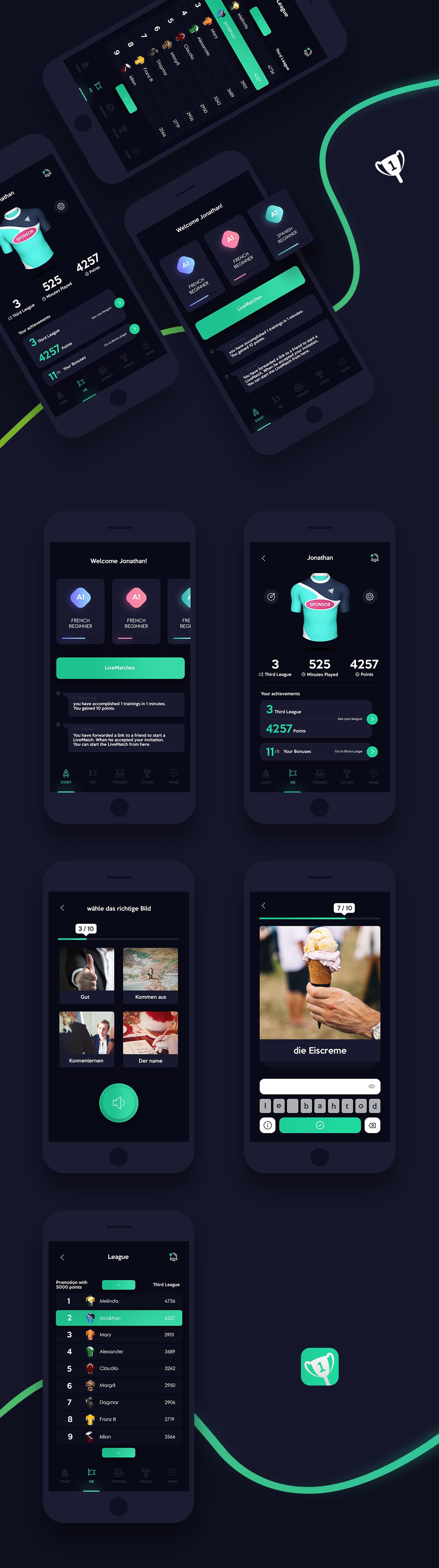 An app design