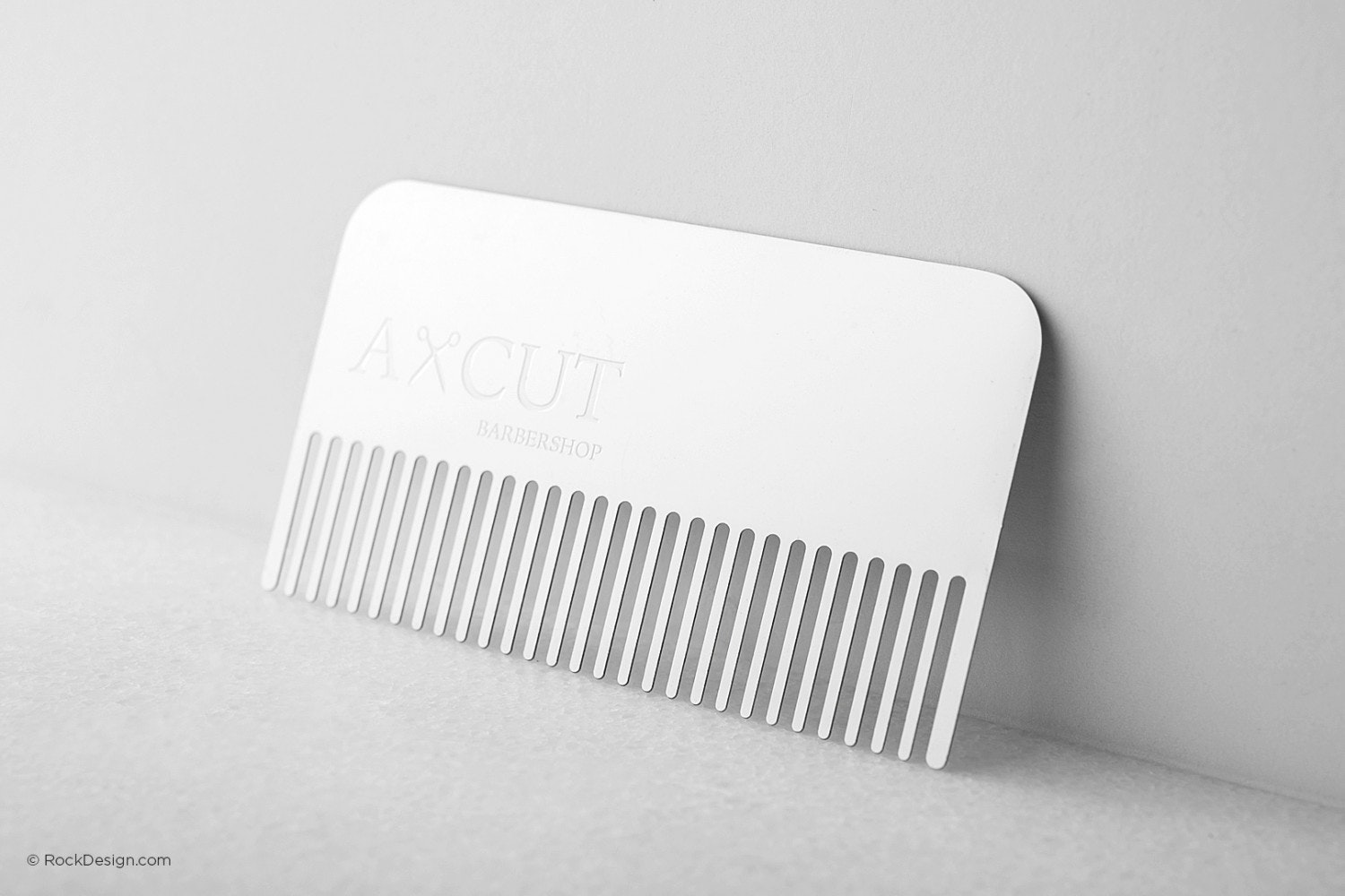 Comb business card