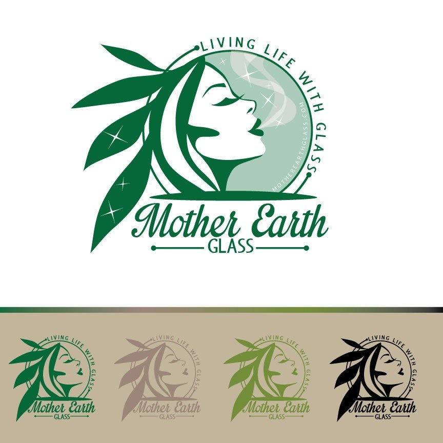 Mother Earth Glass logo