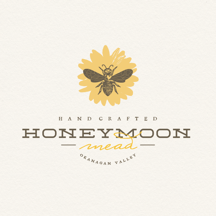 Handcrafted Honeymoon Mead logo