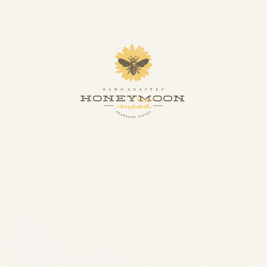 Handcrafted Honeymoon Mead logo