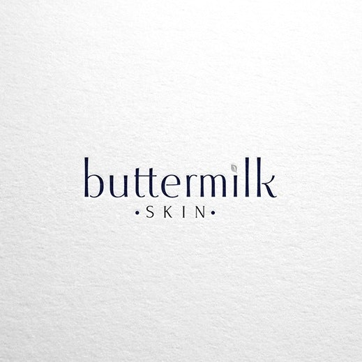 Buttermilk skin logo