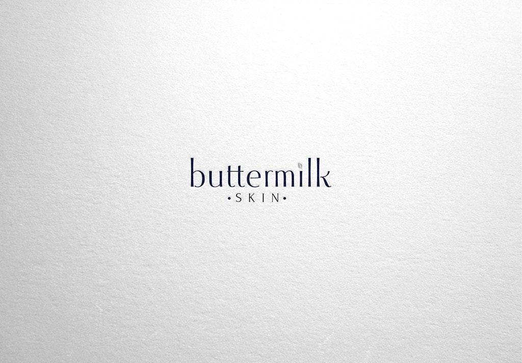 Buttermilk skin logo