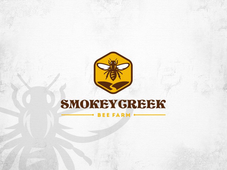Smokey Creek Bee Farm logo
