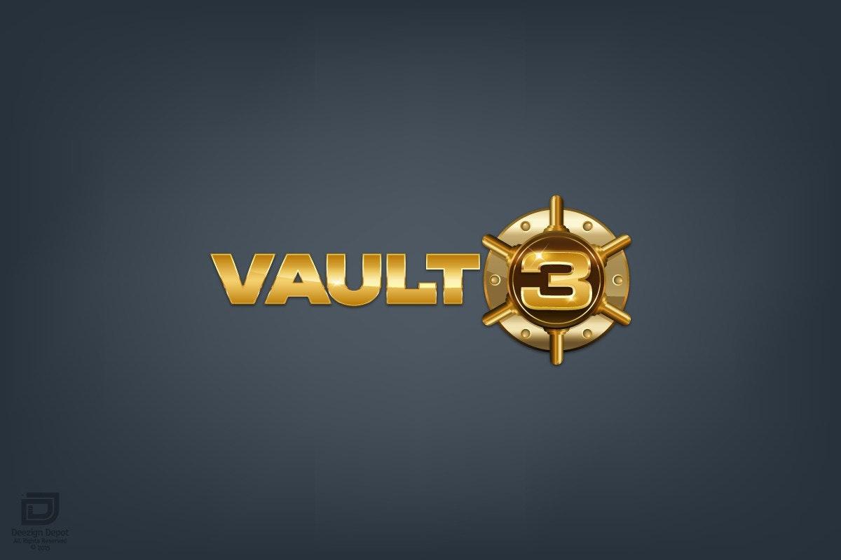 Luxurious Logo for Vault3